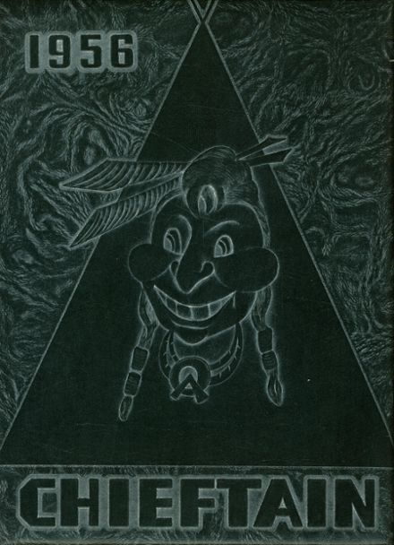 1956 Sac City High School Yearbook Cover