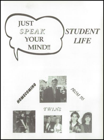 1996 Rosholt High School Yearbook Page 7