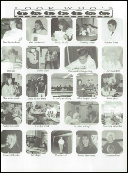 1996 Rosholt High School Yearbook Page 9