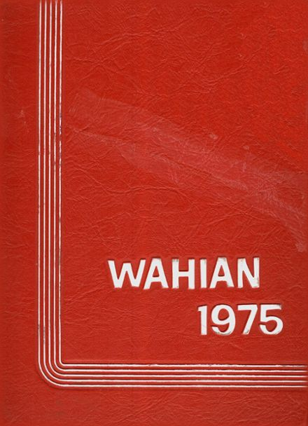 1975 Wasson High School Yearbook Cover