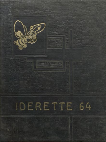 1964 Ider High School Yearbook Cover