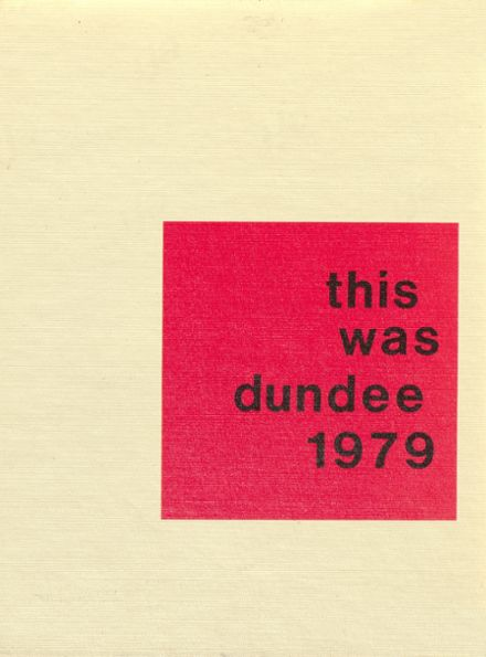 1979 Dundee Community High School Yearbook Cover