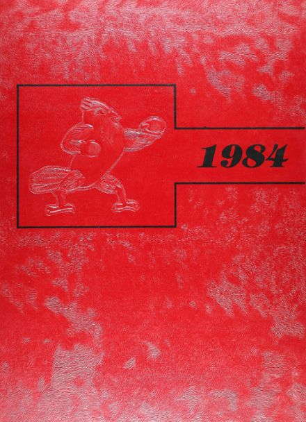 1984 East Central High School Yearbook Cover