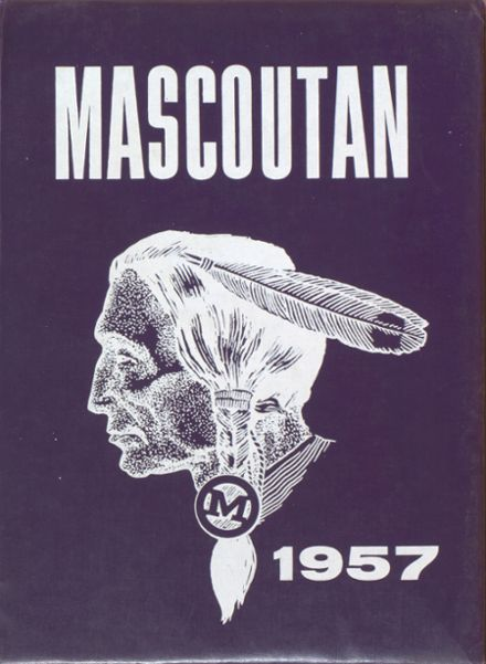 1957 Mascoutah High School Yearbook Cover