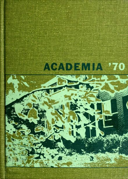 1970 Athens Academy Yearbook Page 1
