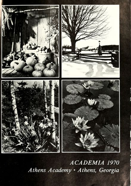 1970 Athens Academy Yearbook Page 5