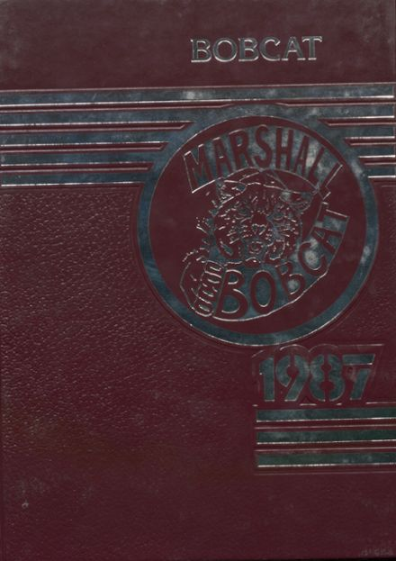 1987 Marshall High School Yearbook Cover