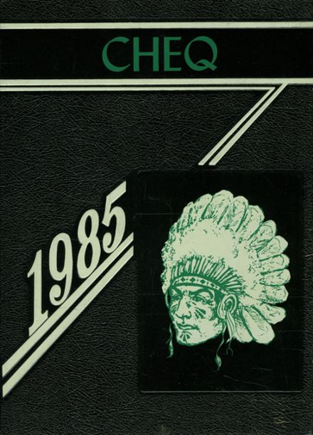1985 Rib Lake High School Yearbook Page 1