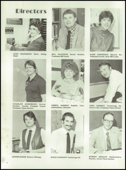 1985 Rib Lake High School Yearbook Page 8