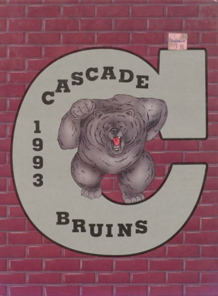 1993 Cascade High School Yearbook Cover