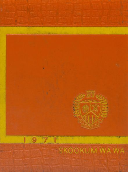 1971 Centralia High School Yearbook Cover