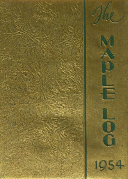 1954 Maplewood Academy Yearbook Cover