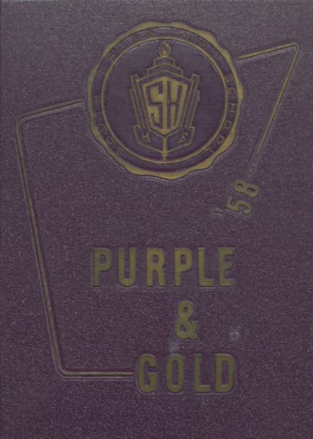 1958 South Haven L.C. Mohr High School Yearbook Cover