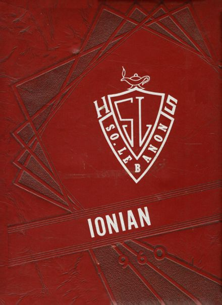 1960 South Lebanon High School Yearbook Cover