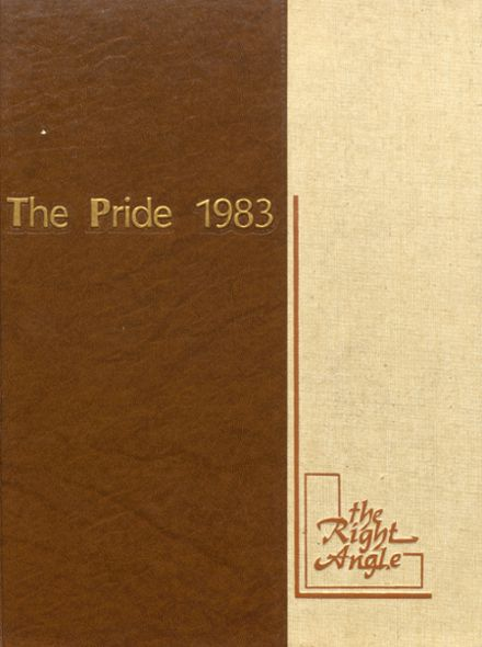 1983 Gahanna Lincoln High School Yearbook Cover