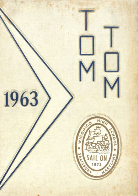 1963 Wicomico High School Yearbook Cover