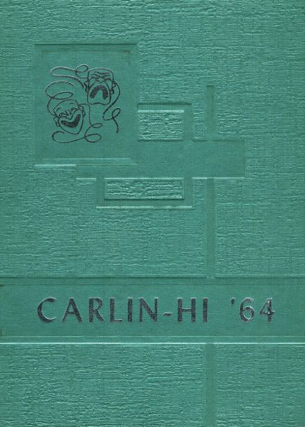 1964 Carlinville High School Yearbook Cover