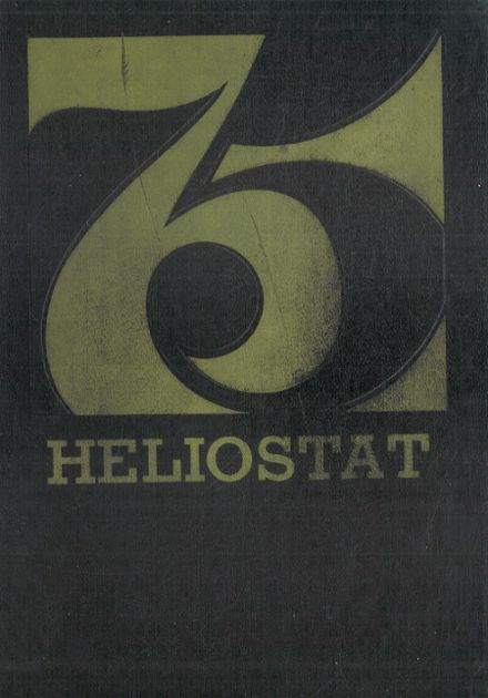 1975 Centralia High School Yearbook Cover
