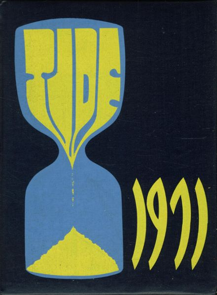 1971 Perryville High School Yearbook Cover