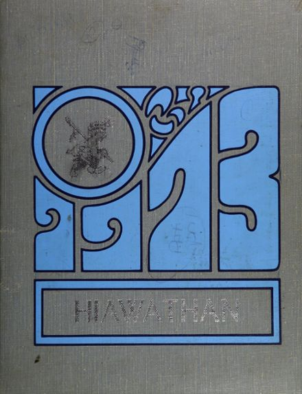 1973 Liverpool High School Yearbook Cover