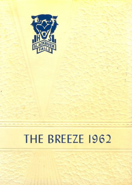 1962 Black River Falls High School Yearbook Cover