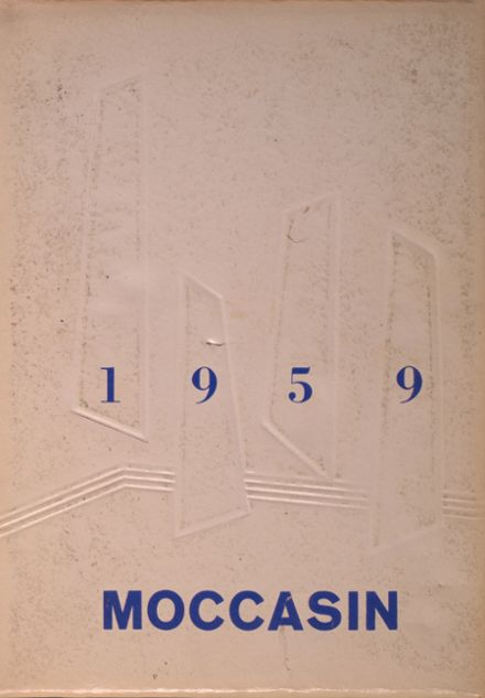 1959 Howard Lake-Waverly-Winsted High School Yearbook Cover