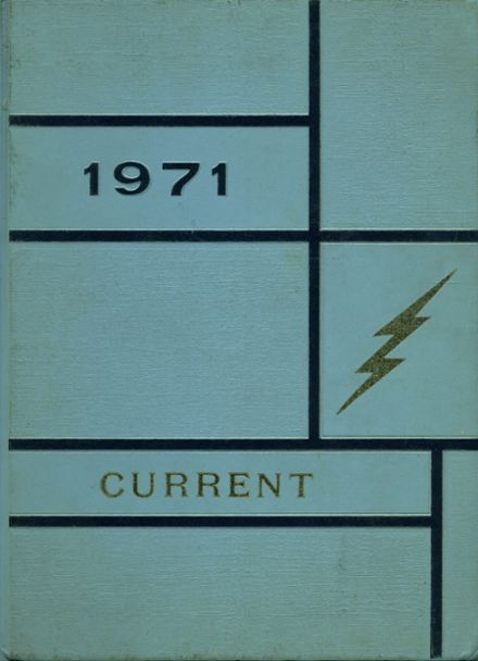 1971 Philo High School Yearbook Cover