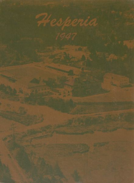 1947 North Bend High School Yearbook Cover