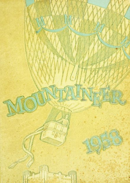 1958 Mt. St. Michael Academy Yearbook Cover