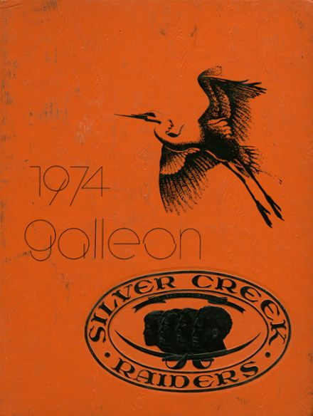 1974 Silver Creek High School Yearbook Cover
