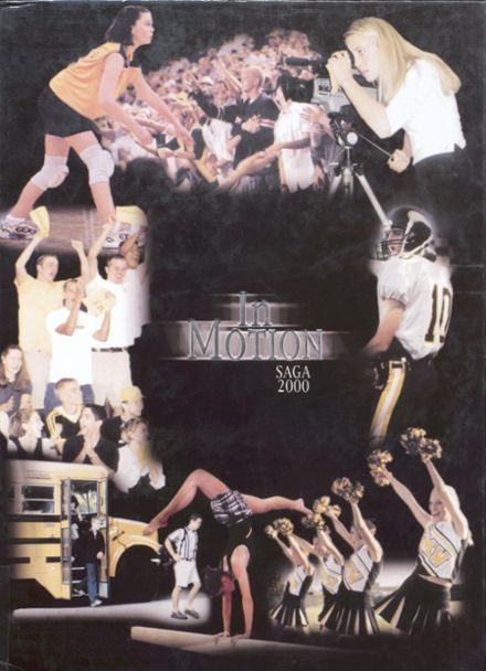2000 Shawnee Mission West High School Yearbook Cover