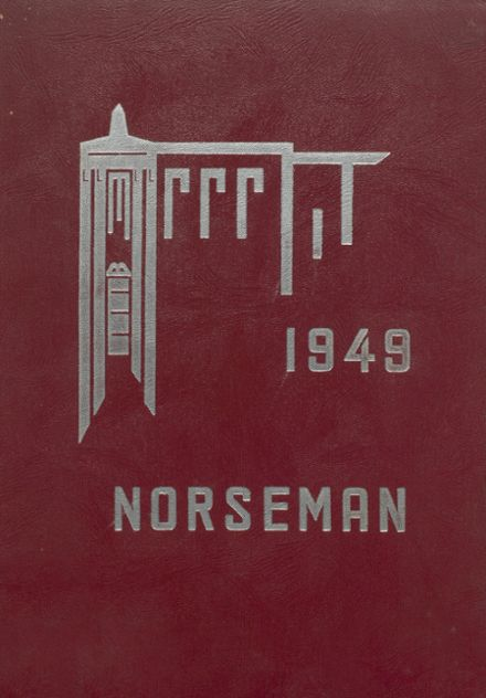 1949 North Muskegon High School Yearbook Cover