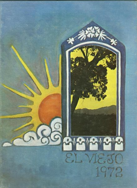 1972 Mission Viejo High School Yearbook Cover