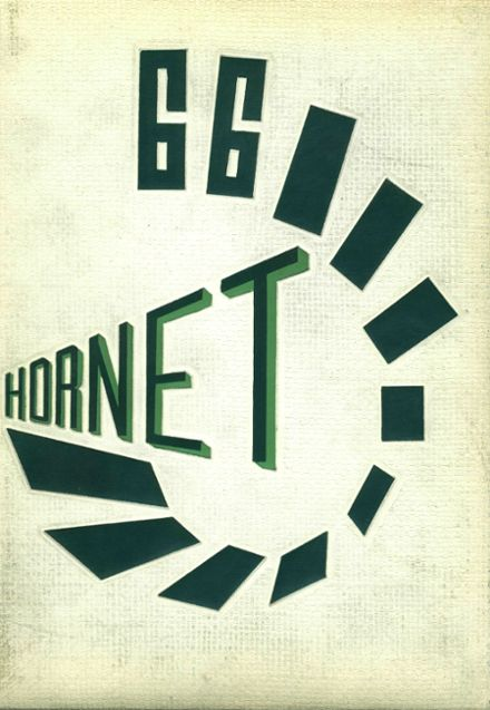 1966 Eureka High School Yearbook Cover