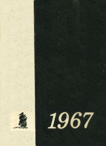 1967 Paseo High School Yearbook Cover