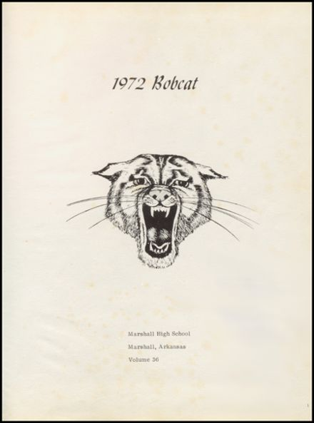 1972 Marshall High School Yearbook Page 5