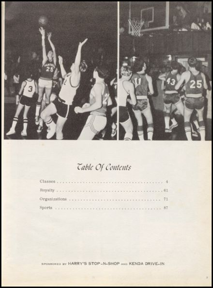 1972 Marshall High School Yearbook Page 7