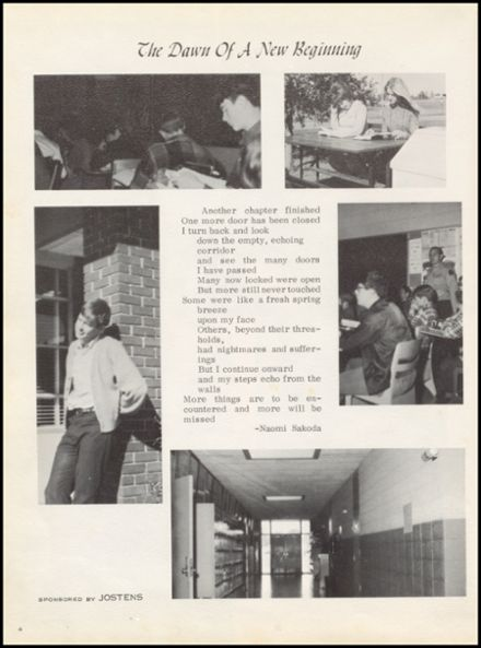 1972 Marshall High School Yearbook Page 8
