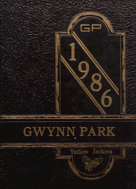 1986 Gwynn Park High School Yearbook Cover