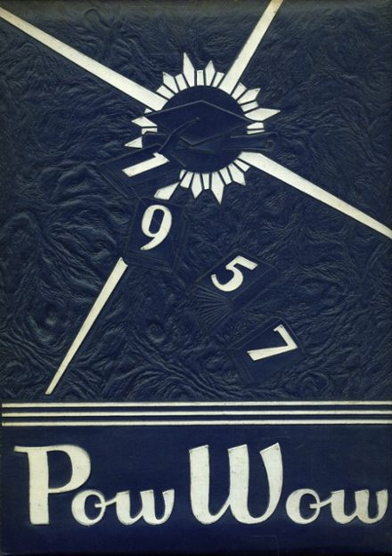 1957 Junction City High School Yearbook Cover