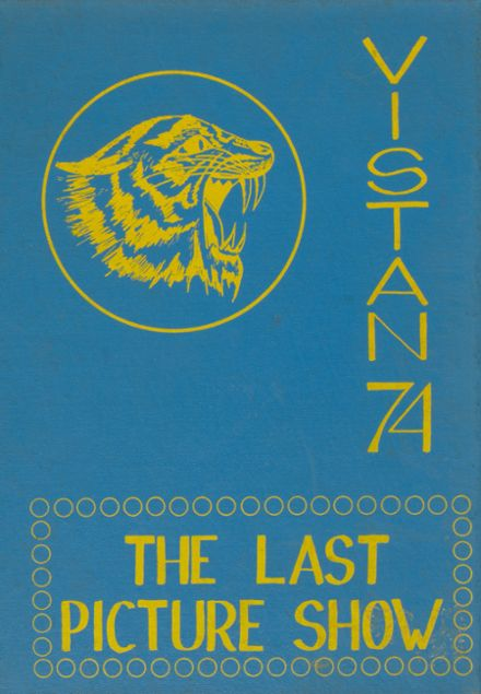 1974 Marion County High School Yearbook Cover