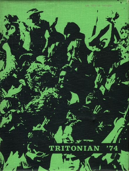 1974 Triton Regional High School Yearbook Cover