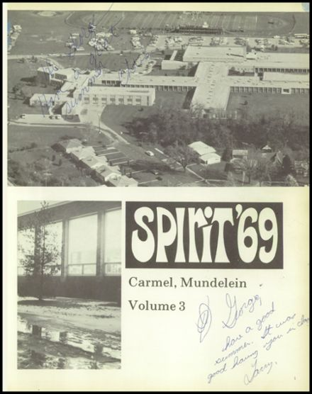 1969 Carmel High School Yearbook Page 5