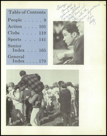 1969 Carmel High School Yearbook Page 7