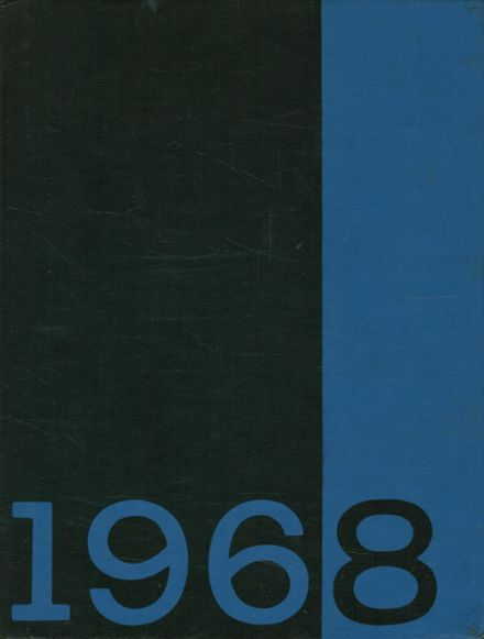 1968 Milton Academy Yearbook Cover