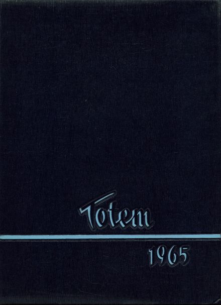 1965 South Side High School Yearbook Cover
