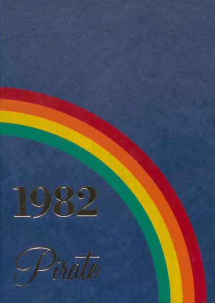 1982 Cyril High School Yearbook Cover
