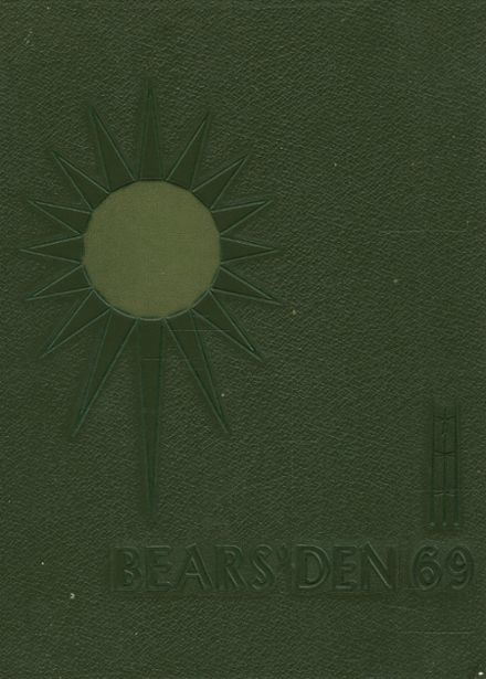 1969 Lawrence Central High School Yearbook Cover