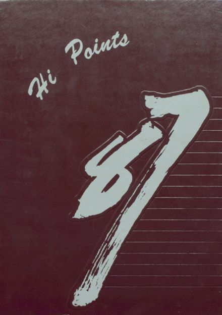 1987 Sparrows Point High School Yearbook Cover