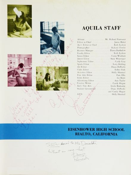 1966 Eisenhower High School Yearbook Page 7